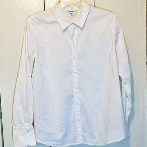 Calvin Klein white button up shirt size xxL